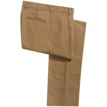 Bills Khakis M2 Ottoman Cotton Pants - Flat Front (For Men) in Tobacco - Overstock