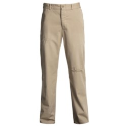 Bills Khakis M2 Patched Twill Pants - Button Fly, Flat Front (For Men) in Patched Khaki