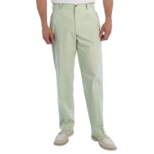 Bills Khakis M2 Poplin Pants - Standard Fit, Flat Front (For Men) in Summer Sage - Closeouts