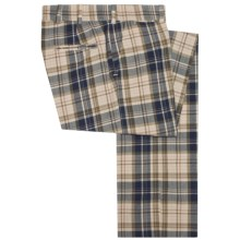 Bills Khakis M2 Retro Plaid Pants - Cotton (For Men) in Ivory - Closeouts