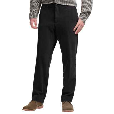 Bills Khakis M2 Standard Fit Corduroy Pants (For Men) in Black - Closeouts