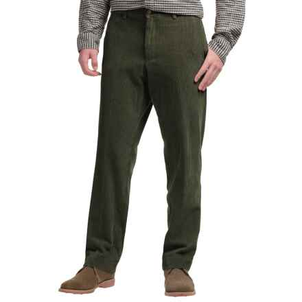 Bills Khakis M2 Standard Fit Corduroy Pants (For Men) in Olive - Closeouts