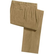 Bills Khakis M2P 11-Wale Corduroy Pants - Pleats (For Men) in Khaki - Closeouts