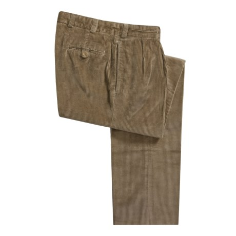 Bills Khakis M2P 6-Wale Corduroy Pants - Reverse Pleats (For Men)