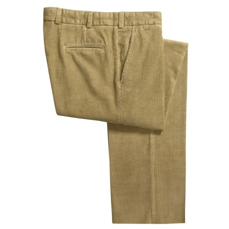 Bills Khakis M3 11-Wale Corduroy Pants - Flat Front (For Men) in Khaki