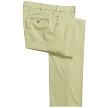 Bills Khakis M3 Chamois Cloth Pants - Flat Front (For Men) in Lime - Closeouts