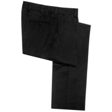 Bills Khakis M3 Pants - Chamois Cloth, Flat Front (For Men) in Black - Closeouts