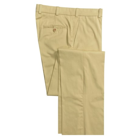 Bills Khakis M3 Pants - Chamois Cloth, Flat Front (For Men) in Black