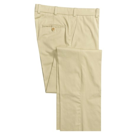 Bills Khakis M3 Pants - Chamois Cloth, Flat Front (For Men)