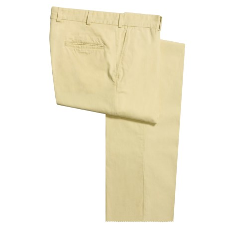 Bills Khakis M3 Poplin Pants - Flat Front, Cotton (For Men) in Wicker