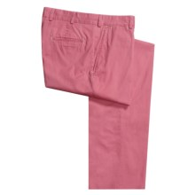 Bills Khakis M3 Sundrenched Twill Pants - Flat Front (For Men) in Summer Red - Closeouts