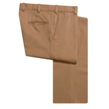 Bills Khakis M3 Vintage Twill Pants - Flat Front, Cotton (For Men) in Bark - Closeouts