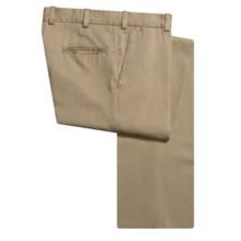 Bills Khakis M3 Vintage Twill Pants - Flat Front, Cotton (For Men) in Khaki - Closeouts