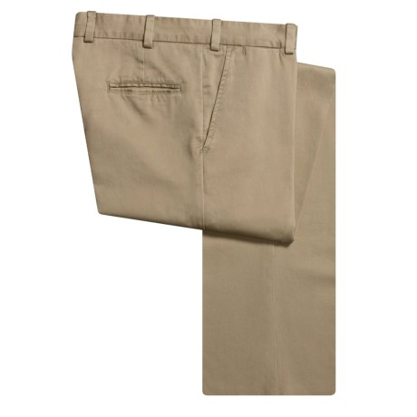 Bills Khakis M3 Vintage Twill Pants - Flat Front, Cotton (For Men)
