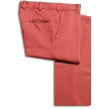 Bills Khakis M3 Vintage Twill Pants - Flat Front, Cotton (For Men) in Weathered Red - Closeouts