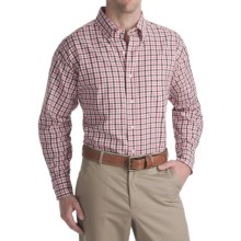 Bills Khakis Oxford Brooklyn Check Shirt - Tailored Fit, Long Sleeve (For Men) in Pink - Closeouts