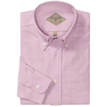 Bills Khakis Oxford Cloth Shirt - Long Sleeve (For Men) in Pink - Overstock