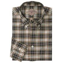 Bills Khakis Oxford Tartan Shirt - Long Sleeve (For Men) in Hunter Dress - Closeouts