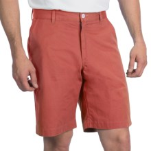 Bills Khakis Parker Island Twill Shorts - Flat Front (For Men) in Summer Red - Closeouts