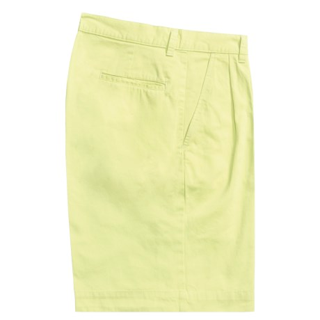 Bills Khakis Parker Island Twill Shorts - Pleated (For Men) in Citrus