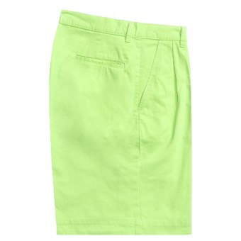 Bills Khakis Parker Island Twill Shorts - Pleated (For Men) in Lime