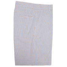 Bills Khakis Parker Micro-Check Shorts - Cotton Seersucker (For Men) in Powder Maize - Closeouts