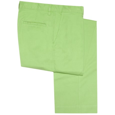 Bills Khakis Parker Pants - Island Twill, Hemmed (For Men) in Lime
