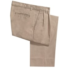 Bills Khakis Parker Pants - Island Twill, Pleated (For Men) in Khaki - Closeouts
