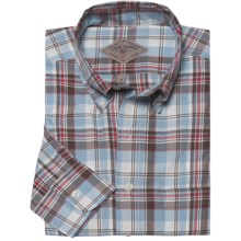 Bills Khakis Patterson Plaid Shirt - Long Sleeve (For Men) in Powder Brown - Closeouts