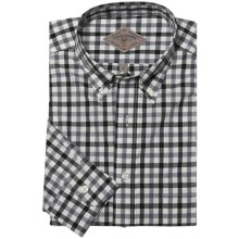 Bills Khakis Penn Check Shirt - Long Sleeve (For Men) in Charcoal - Closeouts