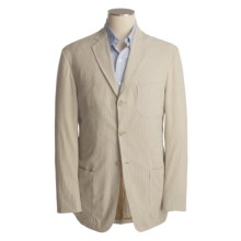 Bills Khakis Pinpoint Seersucker Sport Coat (For Men) in Coffee/Camel - Closeouts