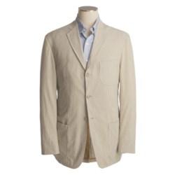 Bills Khakis Pinpoint Seersucker Sport Coat (For Men) in Khaki/Cream
