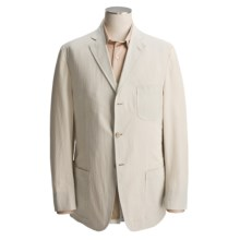 Bills Khakis Pinpoint Seersucker Sport Coat (For Men) in Khaki/Cream - Closeouts