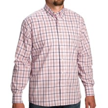 Bills Khakis Plaid Shirt - Long Sleeve (For Men) in Pink/Blue - Closeouts