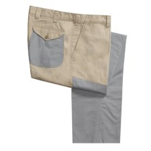 Bills Khakis Poplin Crawford Pants - Flat Front (For Men) in Khaki - Closeouts