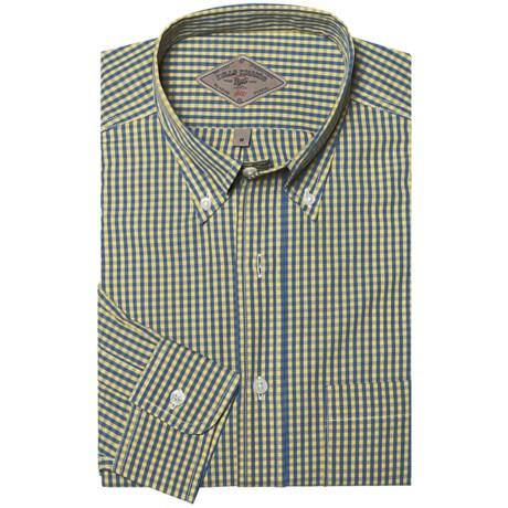Bills Khakis Preston Check Shirt - Long Sleeve (For Men) in Lemon