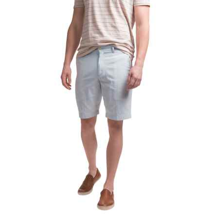 Bills Khakis Seersucker Parker Shorts (For Men) in Blue - Closeouts