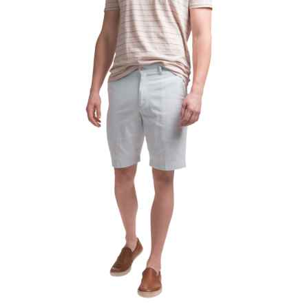 Bills Khakis Seersucker Parker Shorts (For Men) in Light Blue - Closeouts