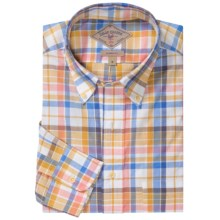 Bills Khakis Signature Plaid Shirt - Long Sleeve (For Men) in Yellow/Blue/Pink - Closeouts