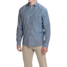 Bills Khakis Slub-Weave Shirt - Long Sleeve (For Men) in Dark Blue - Closeouts