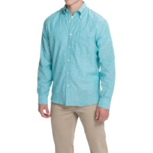 Bills Khakis Slub-Weave Shirt - Long Sleeve (For Men) in Turquoise - Closeouts