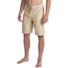Bills Khakis Solid Boardshorts (For Men) in Stone - Closeouts