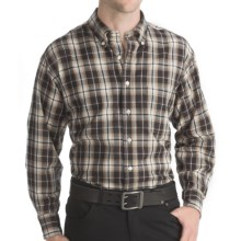 Bills Khakis Sporting Twill Shirt - Long Sleeve (For Men) in Charcoal - Closeouts