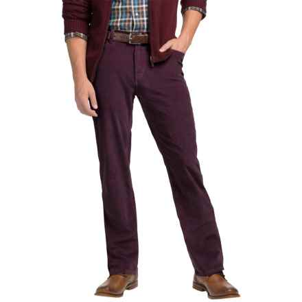 Bills Khakis Standard Fit Corduroy Pants (For Men) in Wine - Closeouts