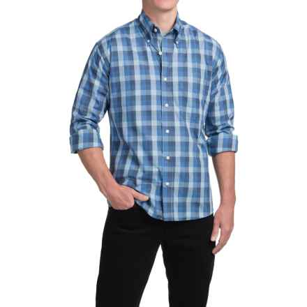 Bills Khakis Standard Issue Buffalo Shirt - Button Front, Long Sleeve (For Men) in Slate Blue - Closeouts
