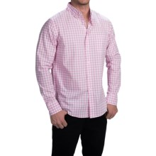 Bills Khakis Standard Issue Gingham Shirt - Classic Fit, Long Sleeve (For Men) in Pink - Closeouts