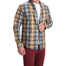 Bills Khakis Standard Issue Glen Plaid Shirt - Classic Fit, Long Sleeve (For Men) in Slate Blue - Closeouts