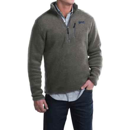 Bills Khakis Standard Issue Heavyweight Fleece Sweater - Zip Neck, Extra Plush (For Men) in Grey - Closeouts