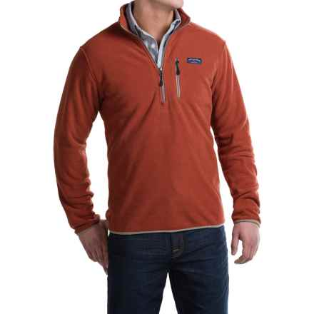 Bills Khakis Standard Issue Heavyweight Fleece Sweater - Zip Neck, Extra Plush (For Men) in Rust - Closeouts