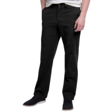 Bills Khakis Standard Issue M3 Trim Fit Twill Pants (For Men) in Black - Closeouts